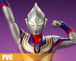 PV8607  Ultraman Tiga (PVC)