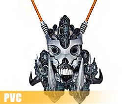 PV10853  Skull Spartan (PVC)