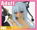 PV3834 1/7 Big Tits Swordsman Sakura Speical Color (PVC)