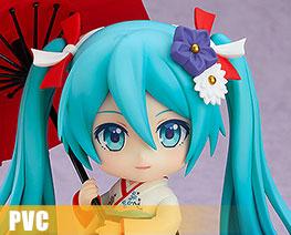 PV11015  Nendoroid Hatsune Miku Korin Kimono Version (PVC)