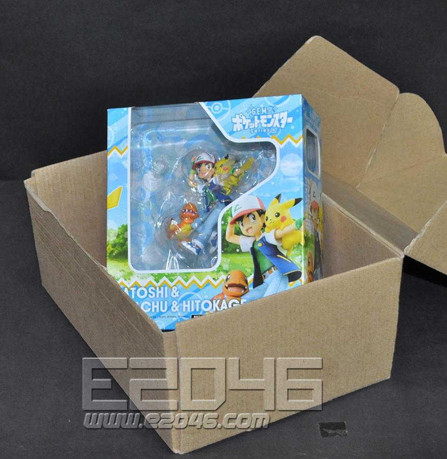 Ash Ketchum and Pikachu and Charmander (PVC)