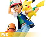 PV6055  Ash Ketchum and Pikachu and Charmander (PVC)