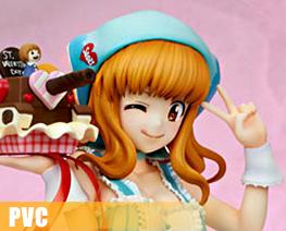PV9740 1/7 Takebe Saori Valentine Apron Version (PVC)