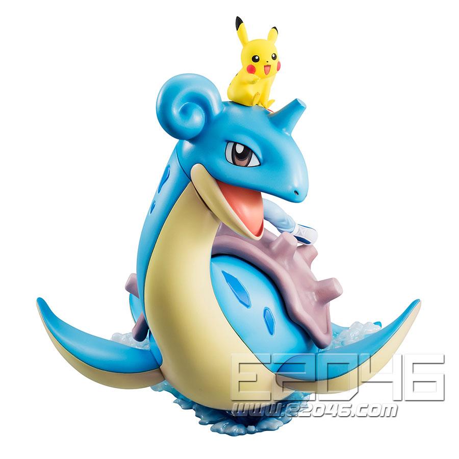 Ketchum $ Pikachu and Lapras (PVC)