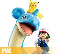 PV7537  Ketchum $ Pikachu and Lapras (PVC)