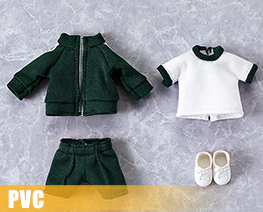 PV10740  Nendoroid Doll Clothes Set Gym Clothes Green (PVC)