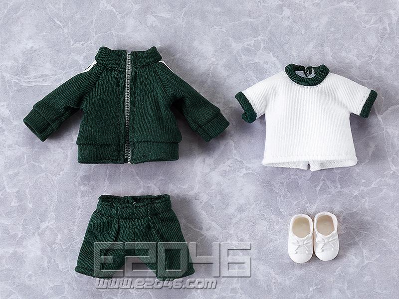 Nendoroid Doll Clothes Set Gym Clothes Green (PVC)