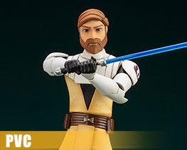 PV12520 1/10 Obi Wan Kenobi The Clone Wars Version (PVC)