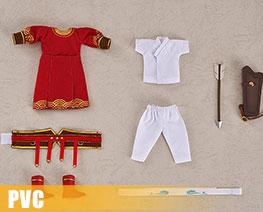 PV11876  Nendoroid Doll Lan Wangji Qishan Riding and Shooting Clothes Set (PVC)
