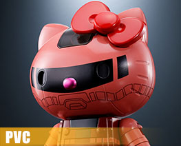 PV10229  Chogokin Char's Custom ZAKU II Hello Kitty (PVC)