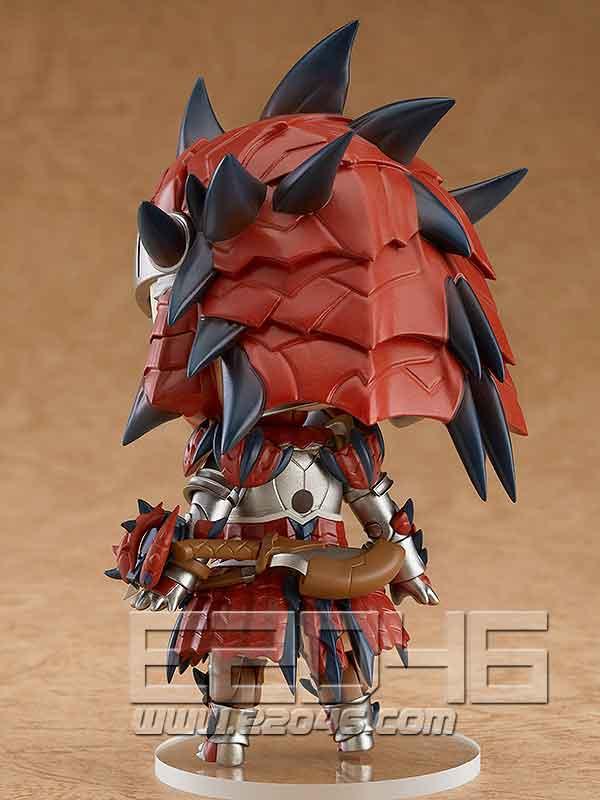Nendoroid 雄火龙装备女猎人 (PVC)