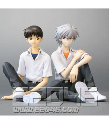 Shinji and Kaworu (PVC)