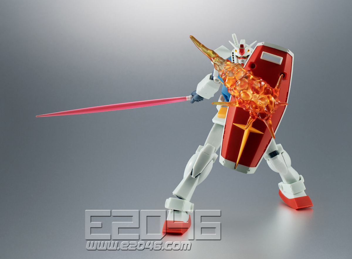 Gundam Effect Part Set A.N.I.M.E. Version (PVC)