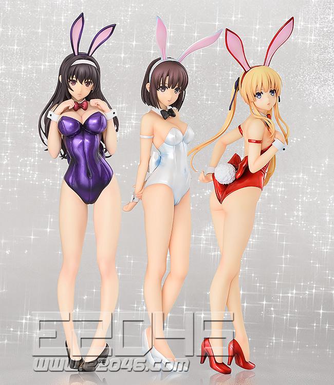Kato Megumi Bare Legs Bunny Version (PVC)