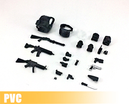PV10466 1/12 Action Figure Equipment Set A (PVC)