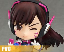PV7629 SD Nendoroid D.Va 经典服版 (PVC)