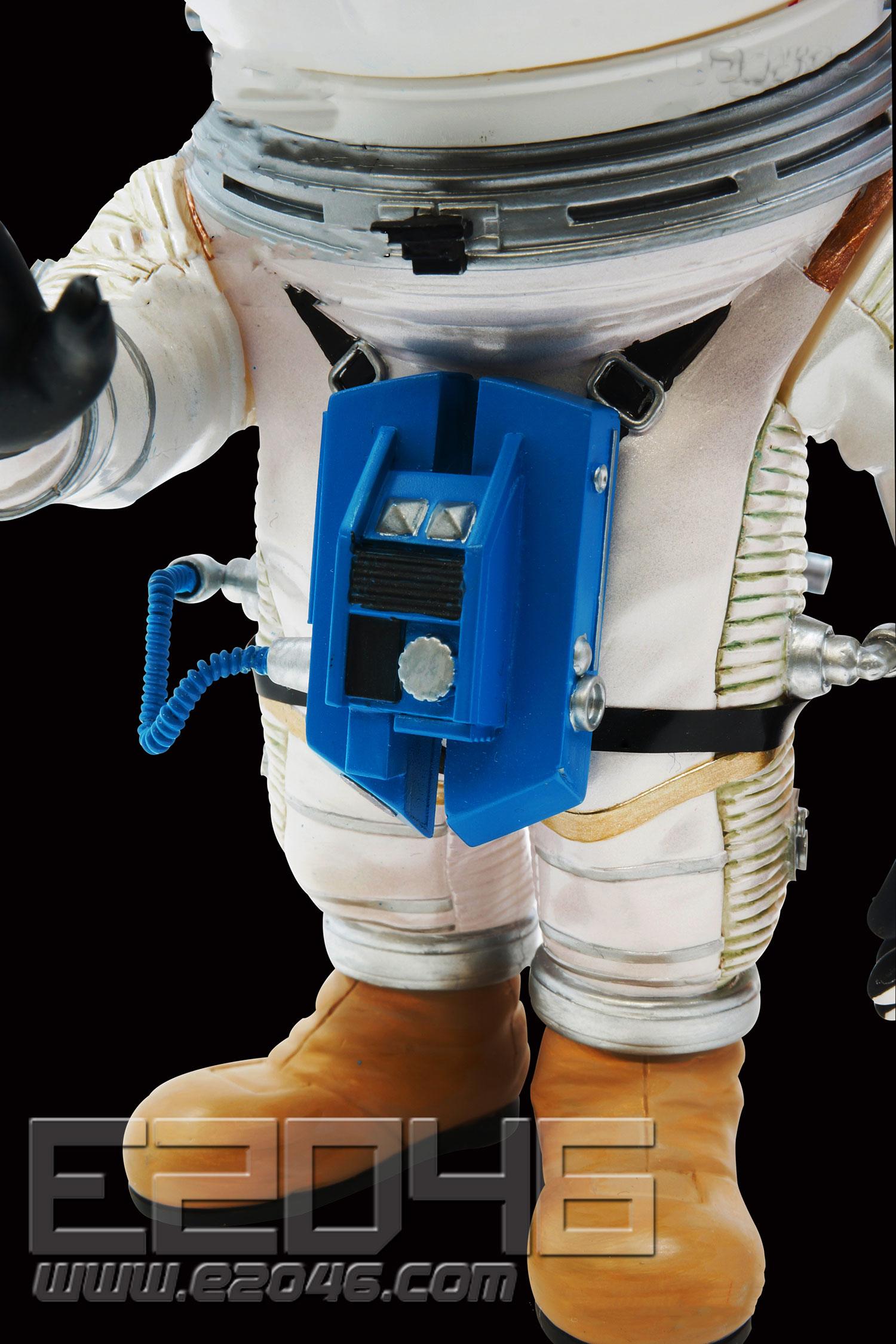Astronauts Silver Space Suit Version (PVC)