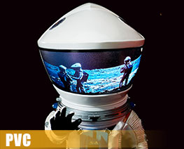 PV8889  Astronauts Silver Space Suit Version (PVC)