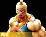 PV4464  Kinnikuman KIN Suit Special Color Version (PVC)