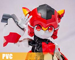 PV10694  Scarlet Sonic (PVC)