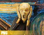 PV6643  Figma The Scream (PVC)