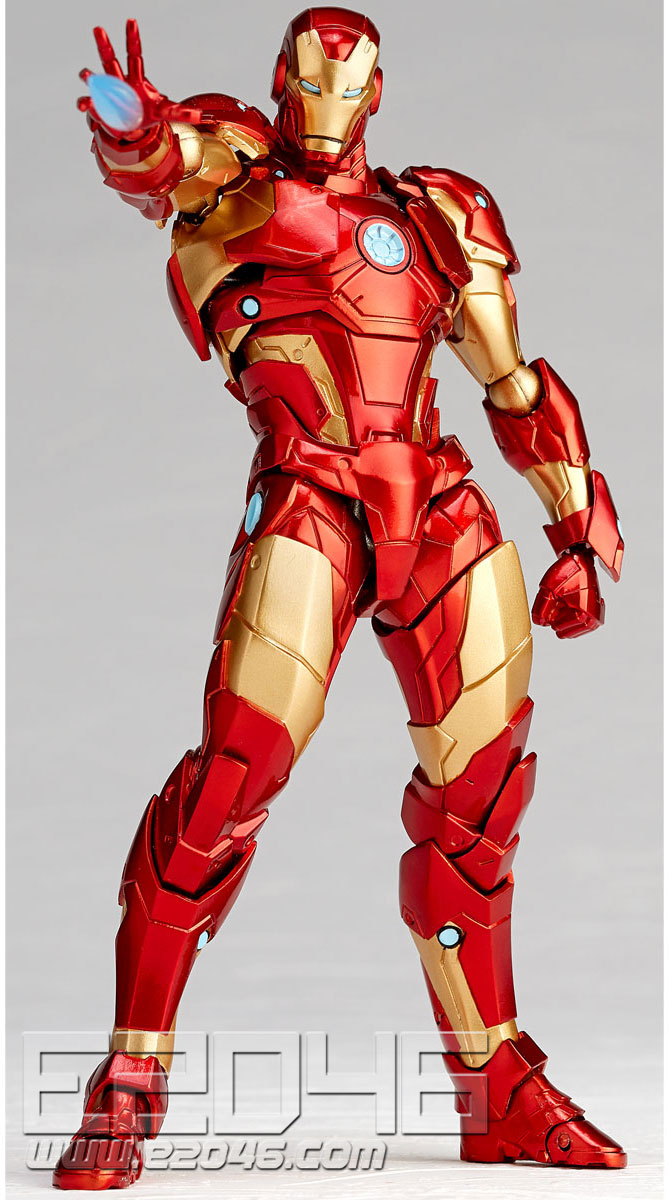 Iron Man Bleeding Edge Armor Version (PVC)