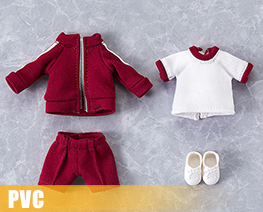 PV10739  Nendoroid Doll Clothes Set Gym Clothes Red (PVC)