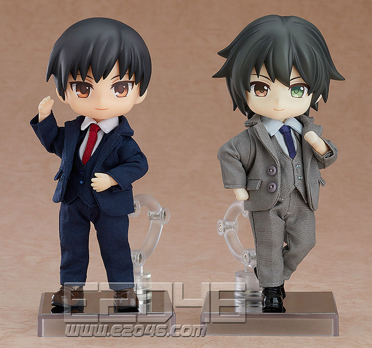 Nendoroid Doll Clothes Set Suit Navy (PVC)