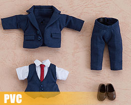 PV9474  Nendoroid Doll Clothes Set Suit Navy (PVC)