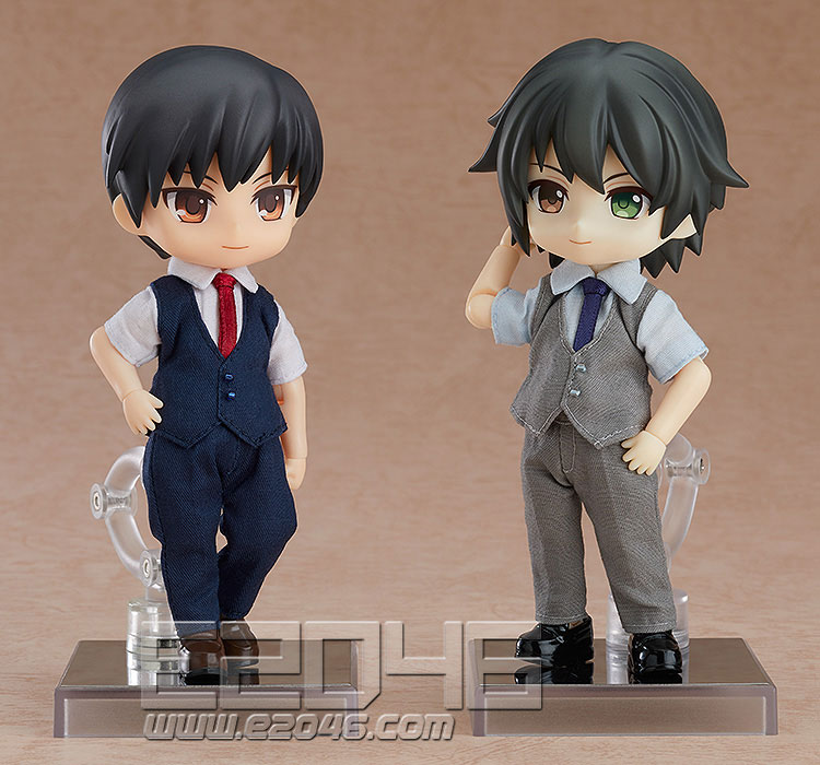 Nendoroid Doll Clothes Set Suit Gray (PVC)