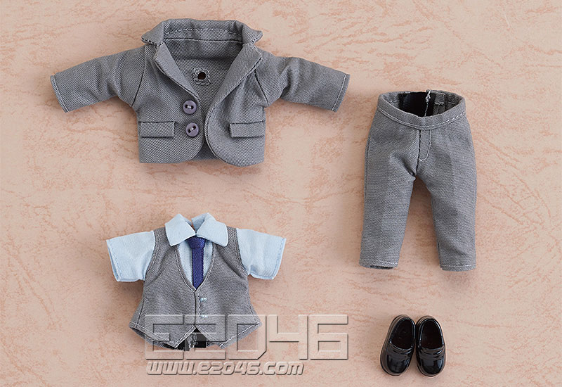 Nendoroid Doll Clothes Set Suit Gray (PVC)