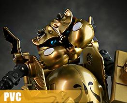 PV10539 1/12 Dirty Man Navy Leader Gold Version (PVC)