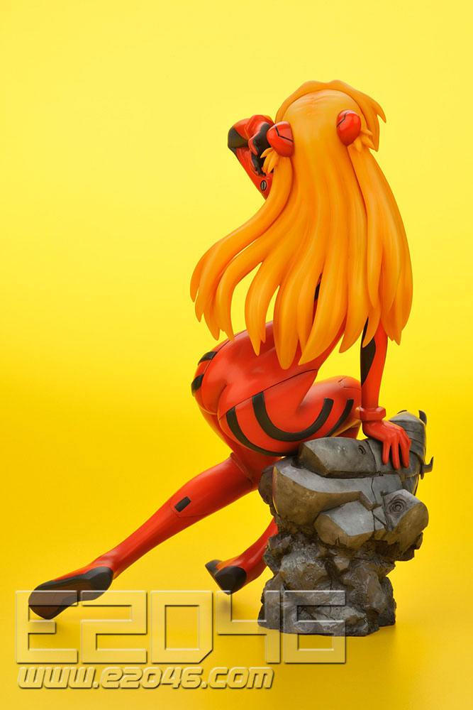 ikinami Asuka Langley Plug Suit Version (PVC)