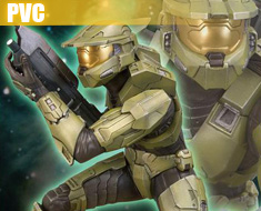 PV0052  Master Chief Field of Battle Artfx Statue