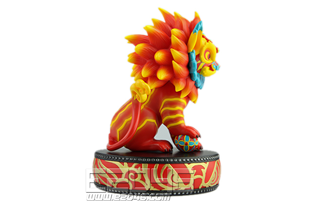 King of Lion Dance (PVC)