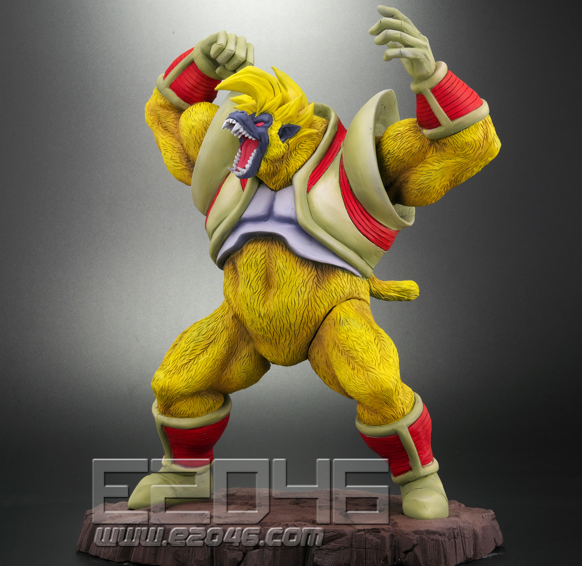 Great Monkey Baby & Super Saiyan 4 Son Gokou (PVC)
