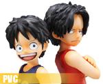 PV1839 1/8 Luffy & Ace (PVC)