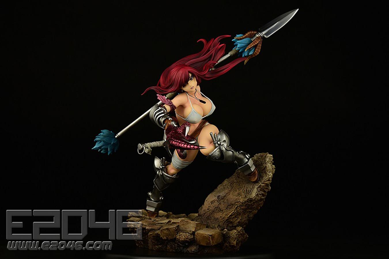 Erza Scarlet The Knight Version (PVC)