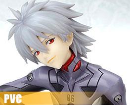 PV9167 1/6 Nagisa Kaworu Plug Suit Version (PVC)