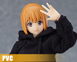PV10458  Figma Female Body with Hoodie Outfit (PVC)