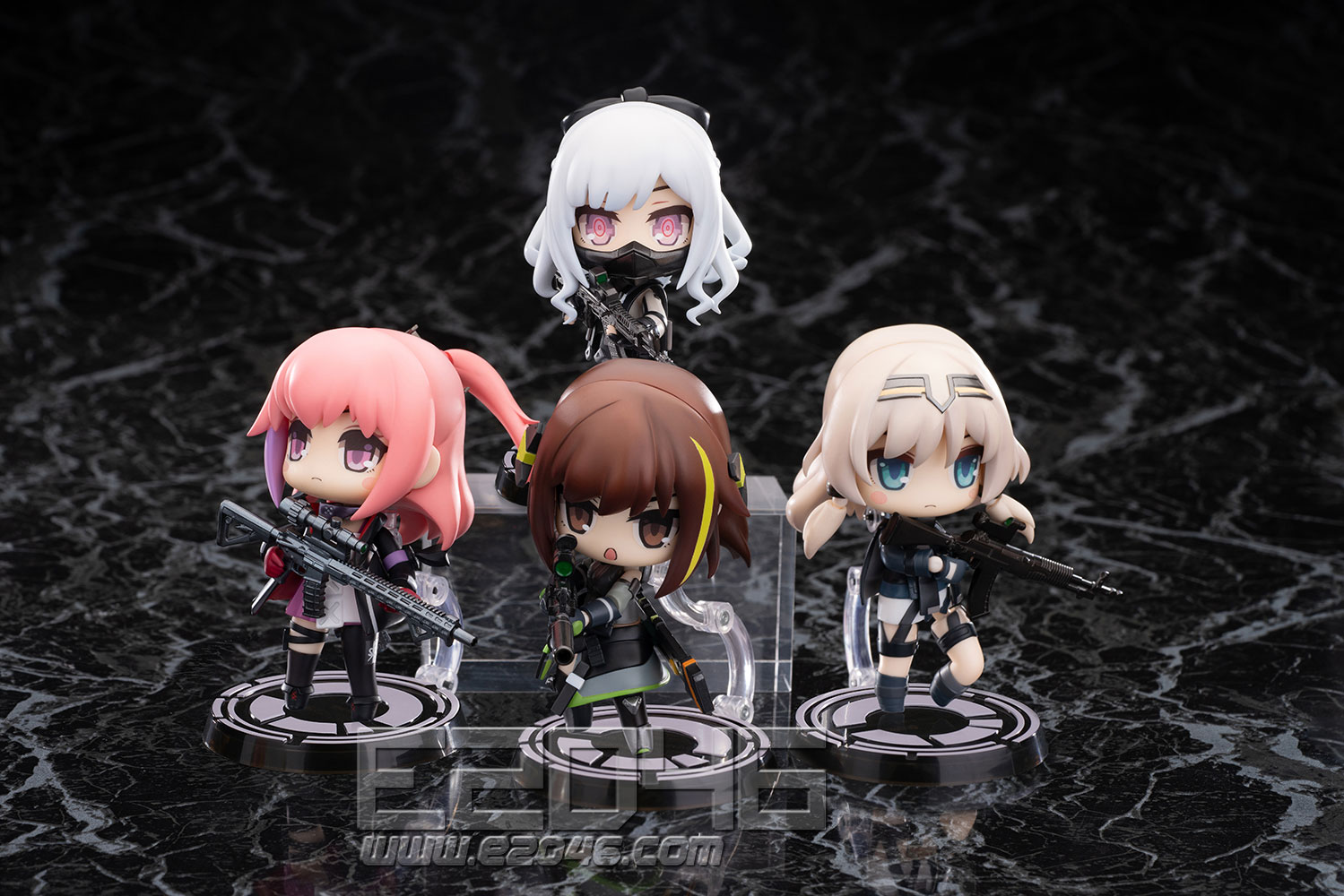 Disobedience Team Set of All Four Characters (PVC)