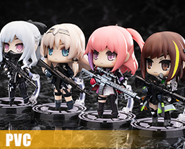 PV11516  Disobedience Team Set of All Four Characters (PVC)