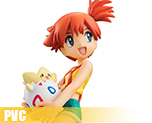PV6056  Misty and Togepi and Psyduck (PVC)