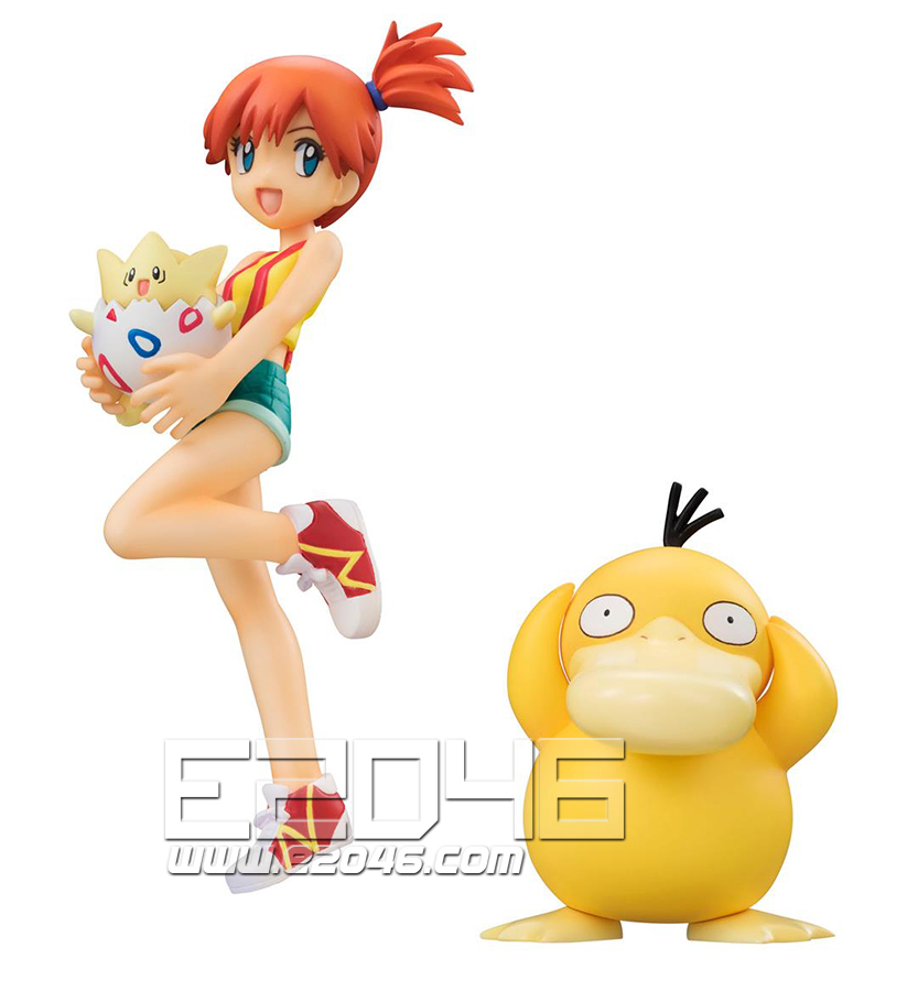 Misty and Togepi and Psyduck (PVC)
