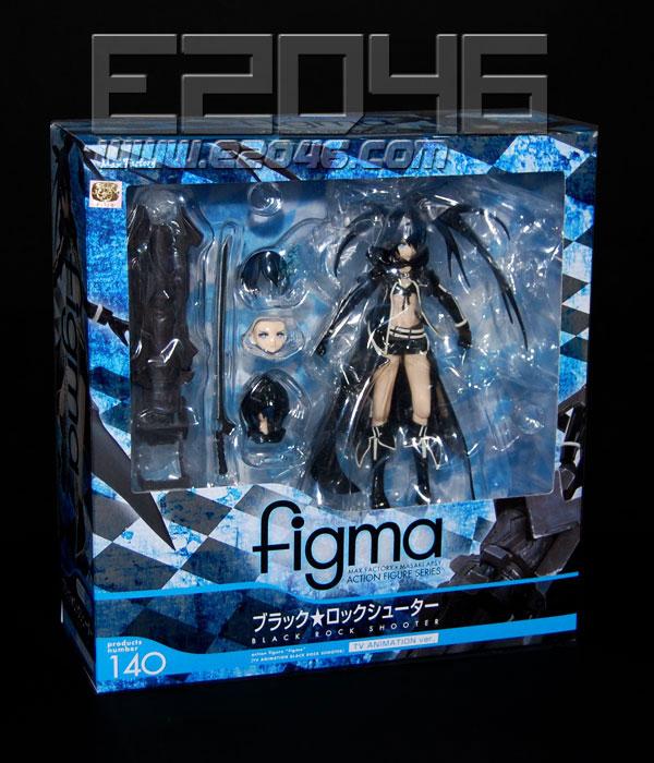 Figma Black Rock Shooter TV ANIMATION Ver. (PVC)