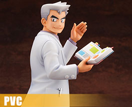 PV9240 1/8 ARTFX J Professor Oak with Bulbasaur (PVC)