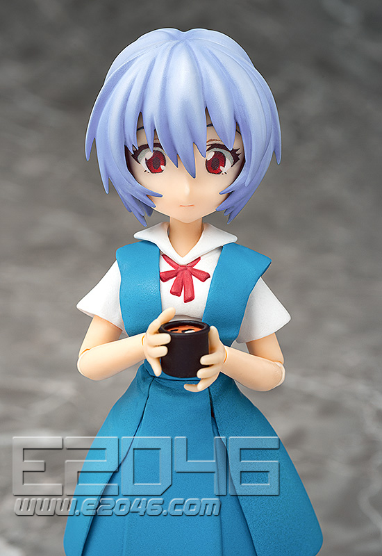 Ayanami Rei School Uniform Version (PVC)