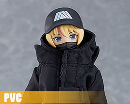 PV12248  Figma Female Body with Techwear Outfit (PVC)