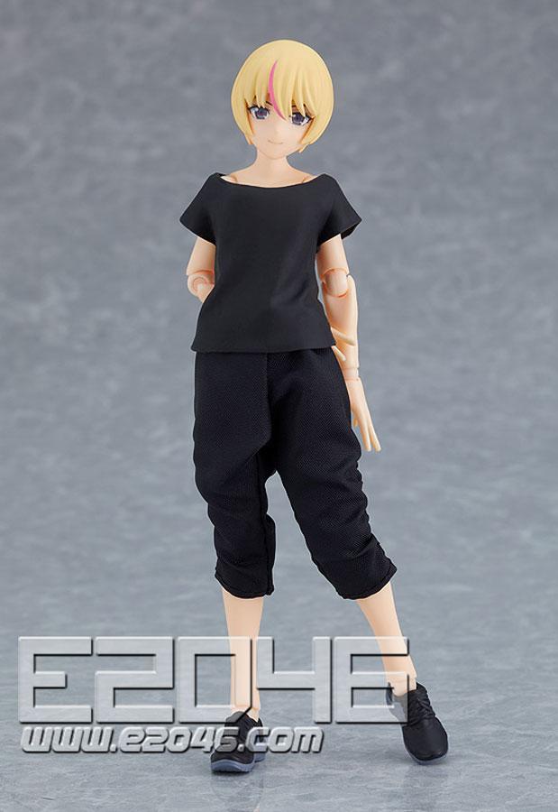 Figma Female Body with Techwear Outfit (PVC)