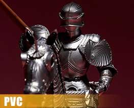 PV8626  15th Century Gothic Equestrian Armor (PVC)